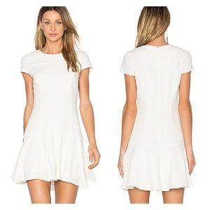 Amanda Uprichard Hudson Dress in Ivory
